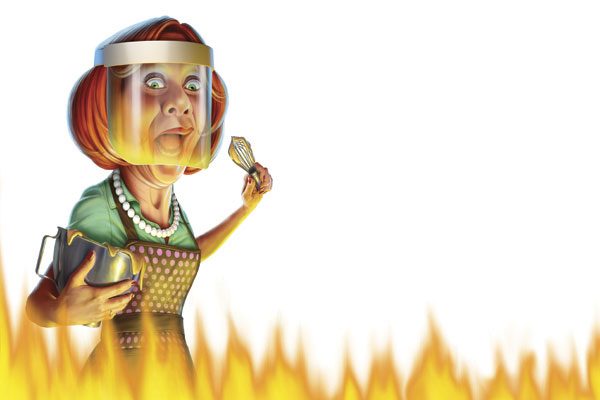 Six Flammable Foods