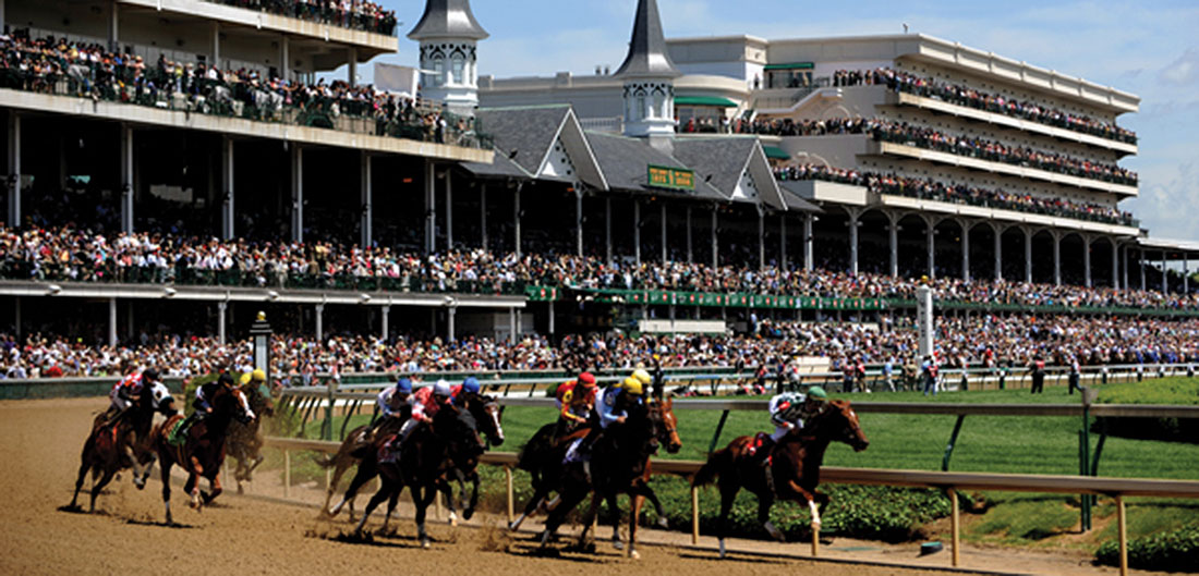 horse race at churchill downs