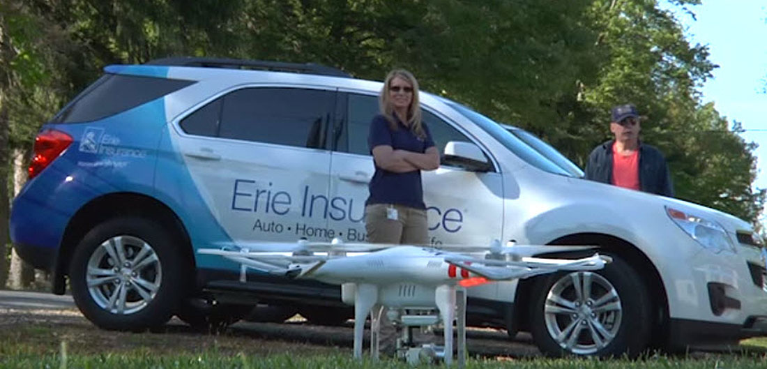 Erie Car Insurance >> It S A Bird It S A Plane It S An Insurance Drone