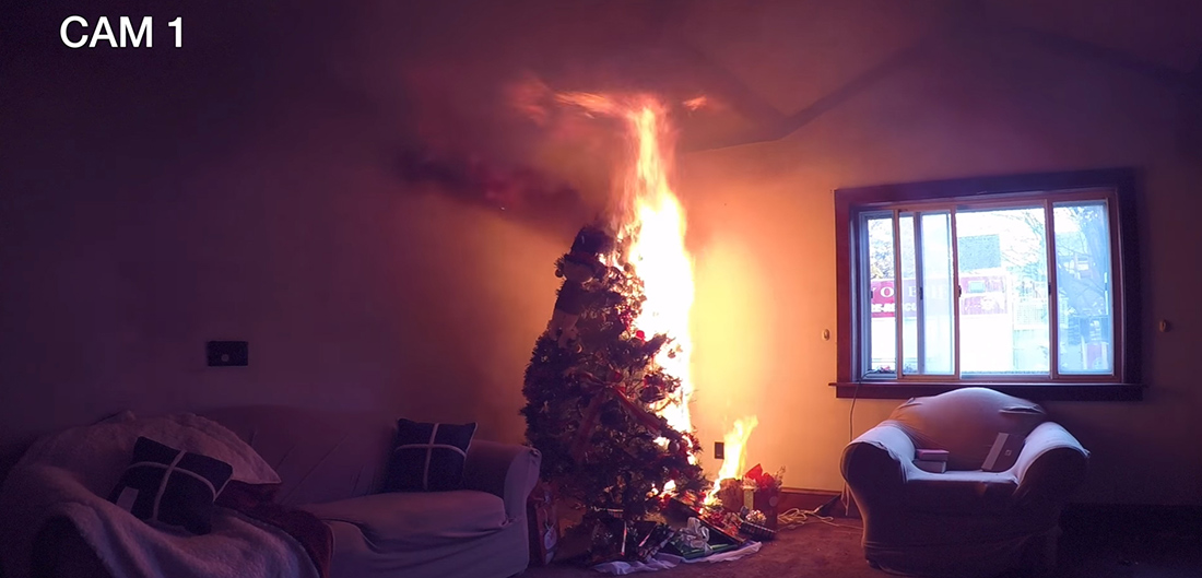 Holiday Up In Flames