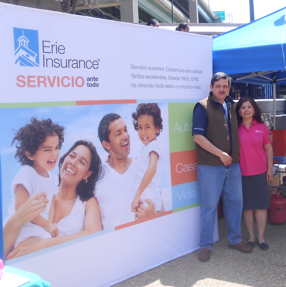 Agent Donaldo participates in community events like the Latino Festival in Richmond Virginia