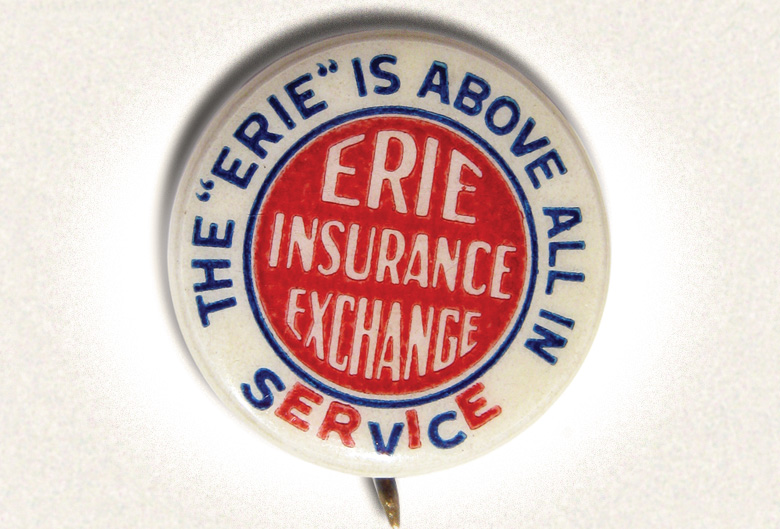 ERIE Service pin