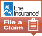 Click here to file a claim with Erie Insurance